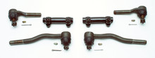 Pictured:  1965-66 Super duty tie rod end kit, for 1965-66 manual steering with 1970-73 spindles (Part # 100-1005).