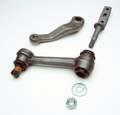 Pictured:  1965-66 Quick steering kit, idler arm, pitman arm and frame pin (Part # 100-3590R).