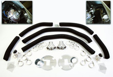 Complete Competition 12'' Front Brake Cooling Kit