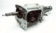 Roltek T-10 Stock Transmission, brass synchros, with speedo