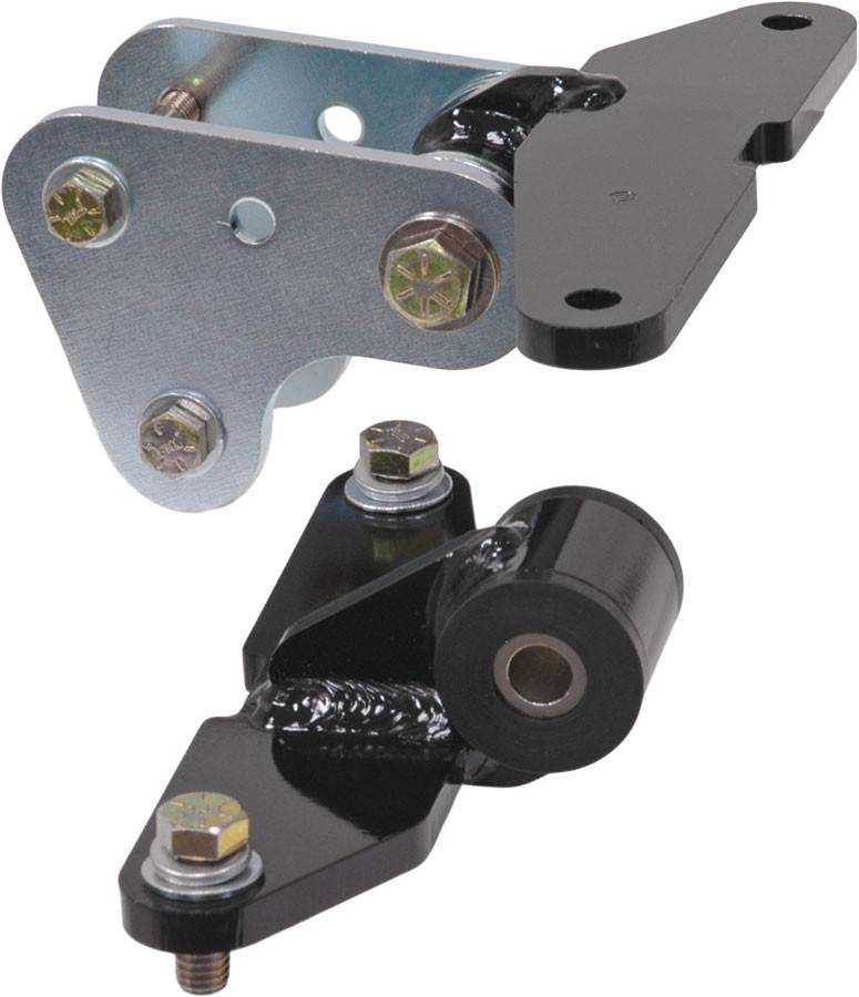 Motor Mount set, Steel-Poly, adjustable race type, 289-302