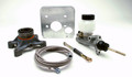 Pictured:  Hydraulic Clutch Kit for 7-1/4'' Tilton dual disc clutch (Part # 100-74755).