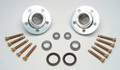 Complete Billet Aluminum Racing Hub Kit with bearings and studs pressed in