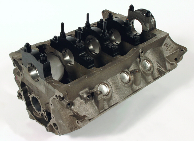 Cylinder Block, race prepped Dart Iron Eagle Ford, lightened