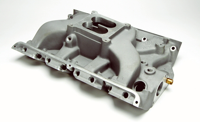 Intake Manifold, 4 BBL, 390-428CJ FE