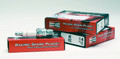 Pictured:  Spark plug, ea, Champion racing V55C, 14 mm, tapered, 5/8 hex (Part # CH-668).