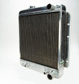 Pictured:  Radiator for Stock Application, 1965-66, with oil cooler, manual trans., rated for 600 hp (Part # 260-003).