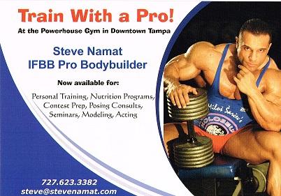 Steve Namat IFBB Pro - Muscleintensity.com