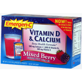 Alacer-Emergen-C-Vitamin-D-&-Calcium-Mixed-Berry-30-ct | Muscleintensity.com