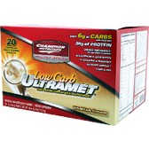 Champion-Nutrition-Ultramet-Low-Carb-Vanilla-Cream-20-ct | Muscleintensity.com
