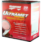 Champion-Nutrition-Ultramet-Strawberry-20-ct | Muscleintensity.com