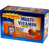 Alacer-Emergen-C-Multi-Vitamin-Plus-Apricot-Mango-30-ct | Muscleintensity.com