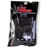 FlexSports-International-Power-Wrist-Wrap-Gloves-Black-Small-1- | Muscleintensity.com