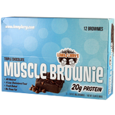 Lenny&Larry's-Triple-Chocolate-Brownie-12ct | Muscleintensity.com