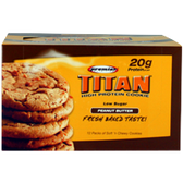 Premier-Titan-Cookies-Peanut-Butter-12ct | Muscleintensity.com