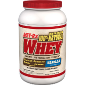 Met-Rx-100%-Natural-Whey-2-lb-Vanilla | Muscleintensity.com
