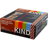 Kind-Plus-Bars-Peanut-Butter-Dark-Chocolate-+-Protein-12-ct | Muscleintensity.com