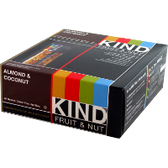 Kind-Fruit-&-Nut-Bars-Almond-&-Coconut-12ct | Muscleintensity.com