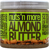 Nuts-'N-More-Almond-Butter-16-oz | Muscleintensity.com