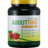 About-Time-Whey-Protein-Isolate-Strawberry-2lb | Muscleintensity.com