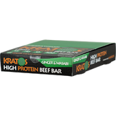 Kratos-Foods-High-Protein-Beef-Bars-Ginger-Wasabi-12-ct | Muscleintensity.com
