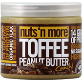 Nuts-'N-More-Toffee-Crunch-Peanut-Butter-16-oz | Muscleintensity.com