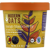 Modern Oats Mango Blackberry Oatmeal 12 ct | Muscleintensity.com
