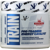 VMI Sports TRAIN Preworkout Fresh Fruit Punch 32 svg | Muscleintensity.com