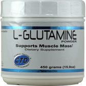 CTD L-Glutamine 450 g | Muscleintensity.com