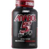 Nutrex Anabol-5 Black 120 ct | Muscleintensity.com
