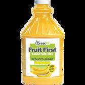 DrinkFit #1 Banana Smoothie Mix 1/2 Gallon Bottle   Muscleintensity.com