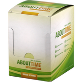 About Time Whey Protein Isolate Cinnamon Swirl Single Serving Box 12 ct | Muscleintensity.com