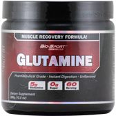 Bio-Sport USA Glutamine Powder 300 g 60 svg | Muscleintensity.com