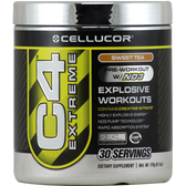 Cellucor C4 Extreme Sweet Tea 30 svg | Muscleintensity.com