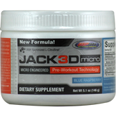 USPlabs Jack3d Micro Blue Raspberry 146 g | Muscleintensity.com
