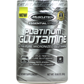 MuscleTech Essential Series Platinum 100% Micronized Glutamine 60 svg | Muscleintensity.com