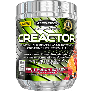 MuscleTech Performance Series Creactor Fruit Punch 120sv | Muscleintensity.com