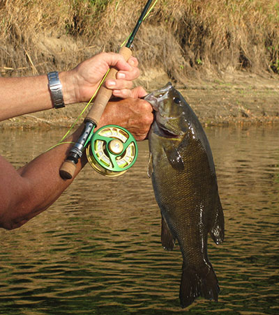 NuCast Rod and Reel - Smallmouth