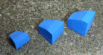 Carolina Blue Popper Blockhead Bodies