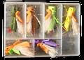 FlyBass Mega Hopper Poppers - 6/pack
