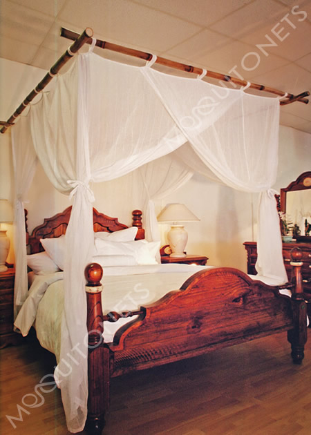 Mosquito net mosquito nets mosquito netting for Bed with mosquito net decoration