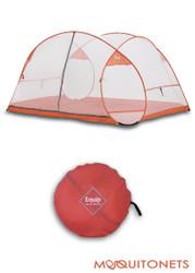 Pop Up Travel Mosquito Net. Freestanding.
