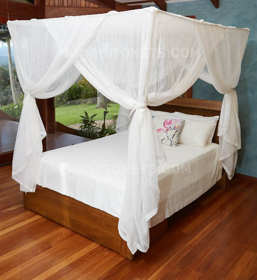 Mosquito Queen Size Box Shape Bed And Canopyrhmosquitos: Bedroom Mosquito Netting At Home Improvement Advice