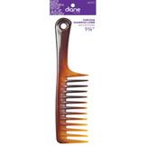 "Diane 9 3/4"" Tortoise Shampoo Comb D7912"