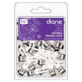 "Diane 1 3/4"" Double Prong Clips D17 80 Pack"