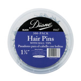 """Diane 1 3/4"""" Hair Pins with Ball Tips 300 Pack D467"""