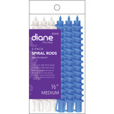 "Diane Spiral Rods DSR2 1/2"" Medium 6 Pack"