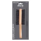 Diane 2 Sided Club Brush with Free Styling Comb DSE801