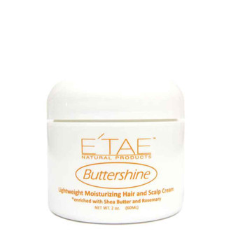 E'tae Buttershine Lightweight Moisturizing Hair and Scalp Cream 2 oz