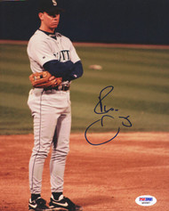 Russ Davis Autographed 8x10 Photo Seattle Mariners PSA/DNA #Q93587